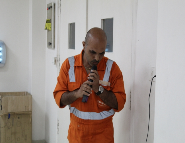 EMPLOYEE SINGING COMPETITION 4