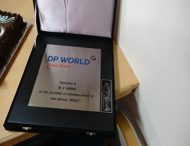 From DP World Mumbai