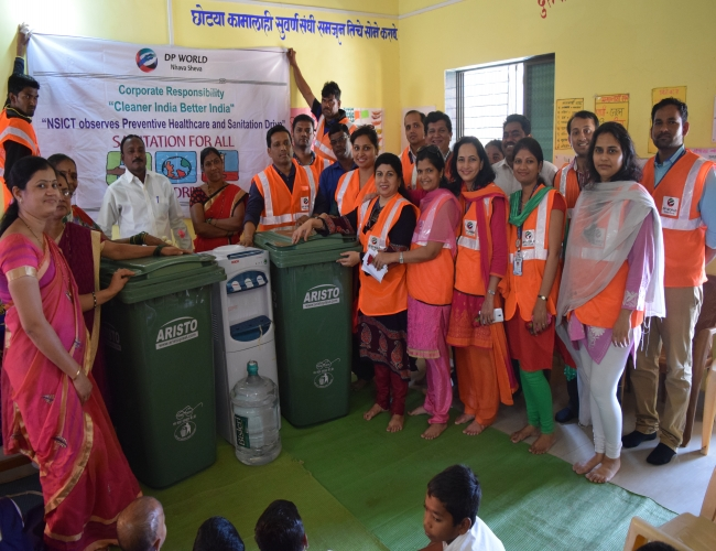CSR Activities Panje School Swachchata Abhiyaan6