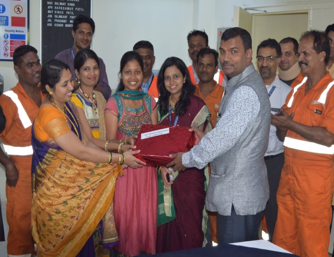 Gift distribution by CEO sir