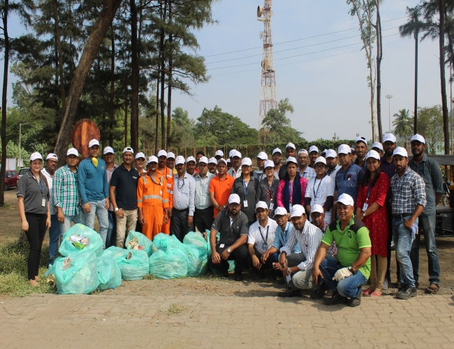 Global Volunteering Week Beach cleaning Drive 4th Dec 2019