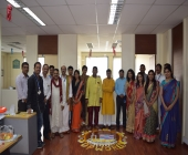 Rangoli event at finance